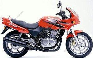 Année de construction 96-03 Gel Batterie Sans Entretien Honda CB 500 pc32 Incl consigne