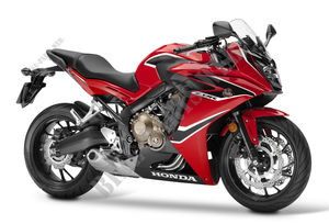 CBR650FAH FRANCE 2017 R263 CBR 650 F ABS ROUGE