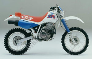 XR600RM FRANCE 1991 NH138H XR 600