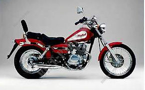 CA125W REBEL 125 FRANCE 1998