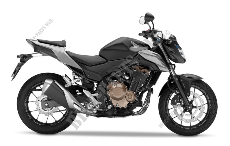 CB500FAH NH436 CB 500 F ABS FRANCE 2017