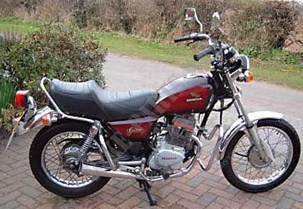 cm125cc jc05 honda moto cm 125 custom 125 1982 deutschland