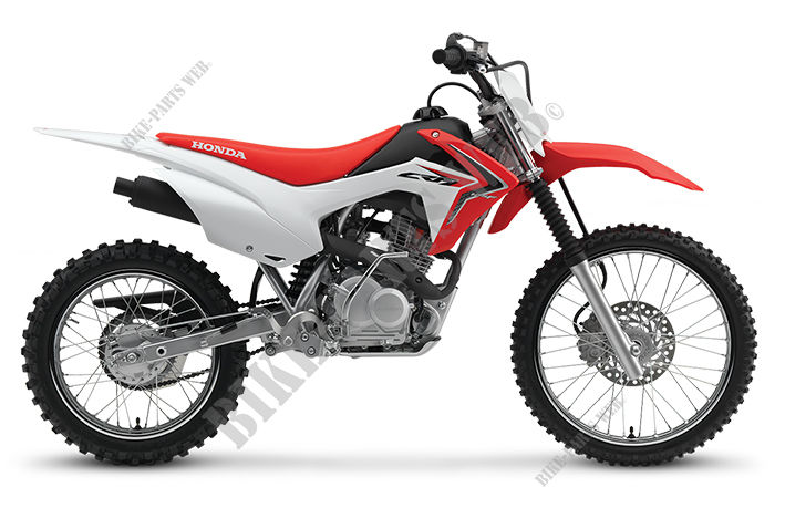 CRF125FBH CRF 125 F GRANDES ROUES FRANCE 2017