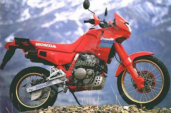 1990 Honda NX 650 Dominator: pics, specs and information