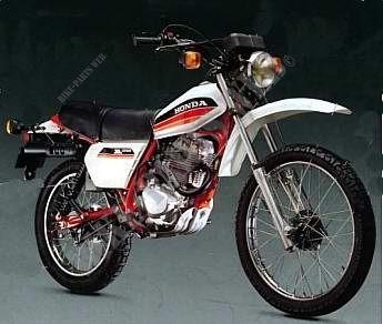 moto honda 125 xls