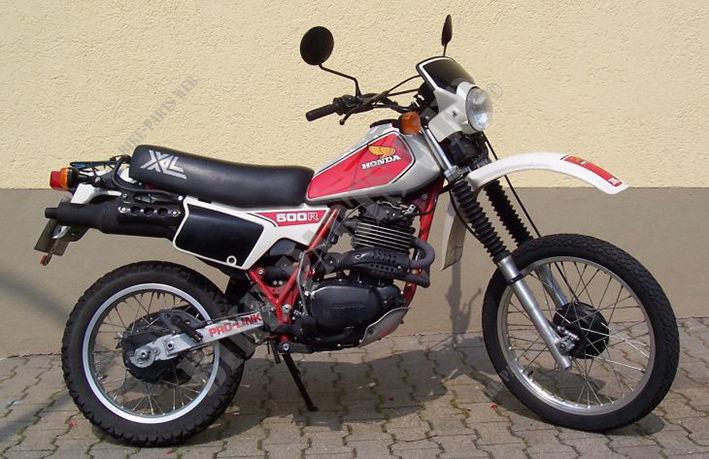 moto honda 500 xlr