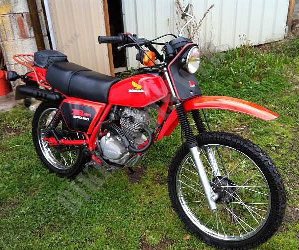 xr125a l125s honda moto xr 125 125 1980 europe honda moto catalogue de pi ces d tach es d 39 origine. Black Bedroom Furniture Sets. Home Design Ideas