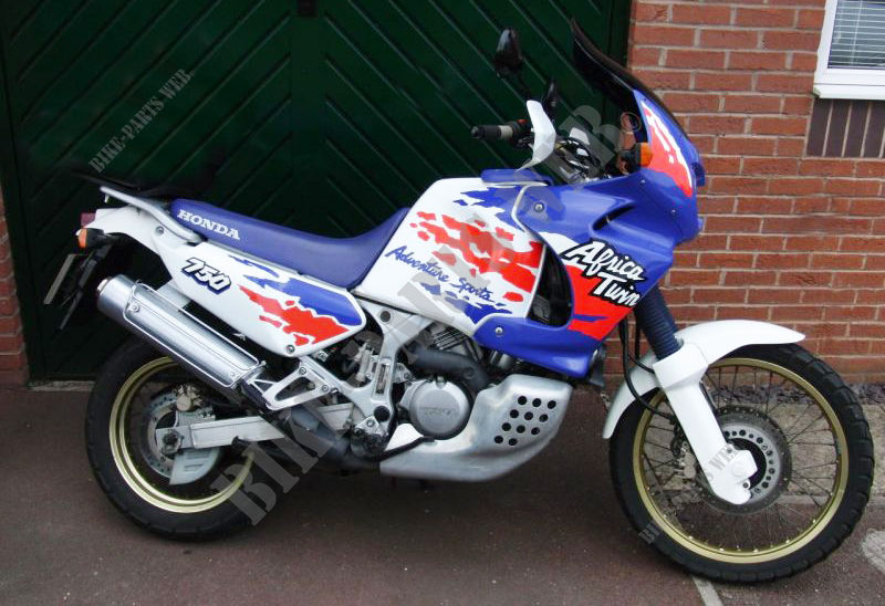 XRV750P NH138H AFRICA TWIN 750 FRANCE 1993