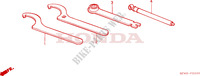 OUTILS Chassis 80 honda-moto CR 1988 F__2300