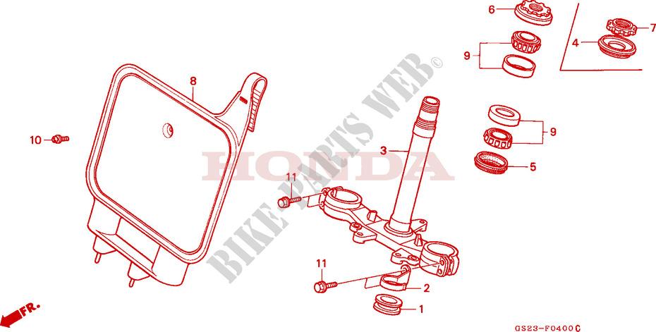 Joint spi de fourche Sifam pour Moto Honda 80 Cr R Petites Roues 1986 à 1991 35