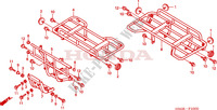 SUPPORT Chassis 450 honda-moto FOURTRAX 2003 F__3300