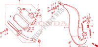 CHAMBRE D'EXPANSION(5) Chassis 125 honda-moto CR 1989 F__1304