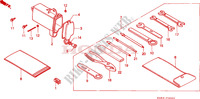 OUTILS Chassis 125 honda-moto CRM 1997 F__3000