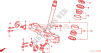 TIGE DE DIRECTION Chassis 250 honda-moto XR 1997 F__0600