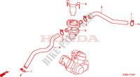 COMMANDE INJECTION D'AIR SOUPAPE Chassis 125 honda-moto VT 2000 F__1601