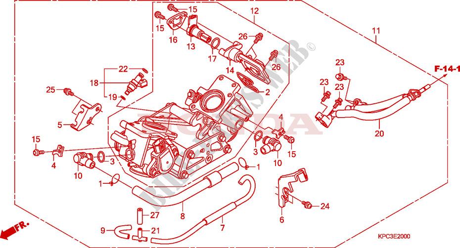 voyant FI qui clignote puis s'éteint sur la varadéro CORPS-DE-PAPILLON-Honda-MOTO-125-VARADERO-2008-XL125V8-E__2000