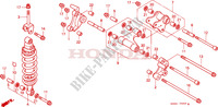 COUSSIN ARRIERE Chassis 1000 honda-moto VTR 1997 F__2300