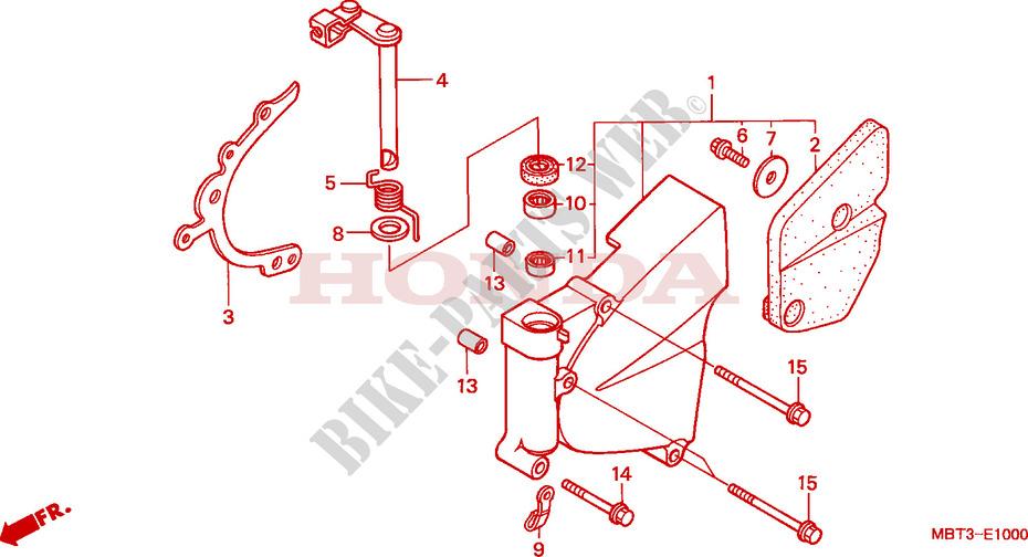 VARADERO 1000 - jeu dans le selecteur de vitesses CARTER-MOTEUR-GAUCHE--POMPE-A-EAU-Honda-MOTO-1000-VARADERO-2001-XL1000V1-E__1000