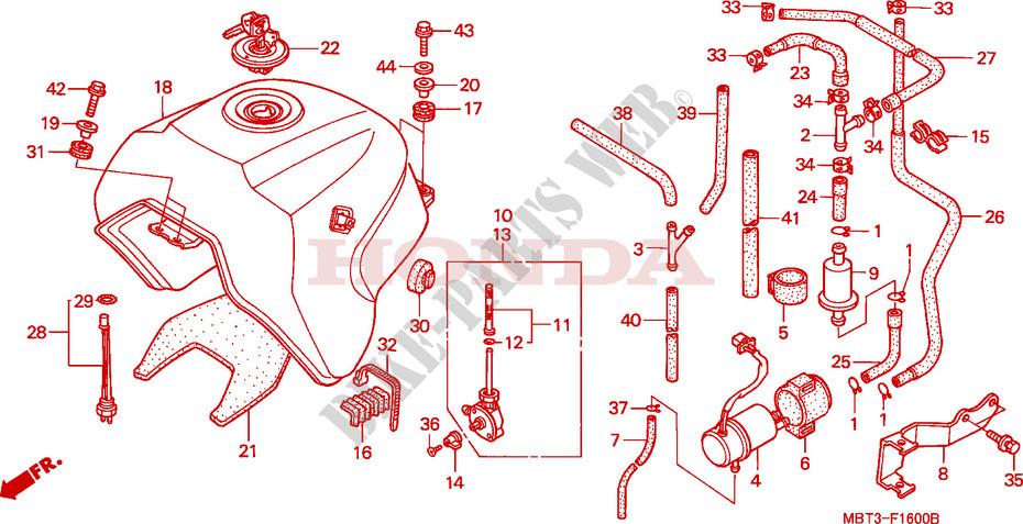 Varadero 1000 : capteur sonde jauge essence RESERVOIR-A-CARBURANT-Honda-MOTO-1000-VARADERO-1999-XL1000VX-F__1600