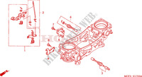CORPS DE PAPILLON(PIECES CONSTITUTIVES)(VTR1000SP2/3/4/5/6) Moteur 1000 honda-moto SP2 2003 E__1703