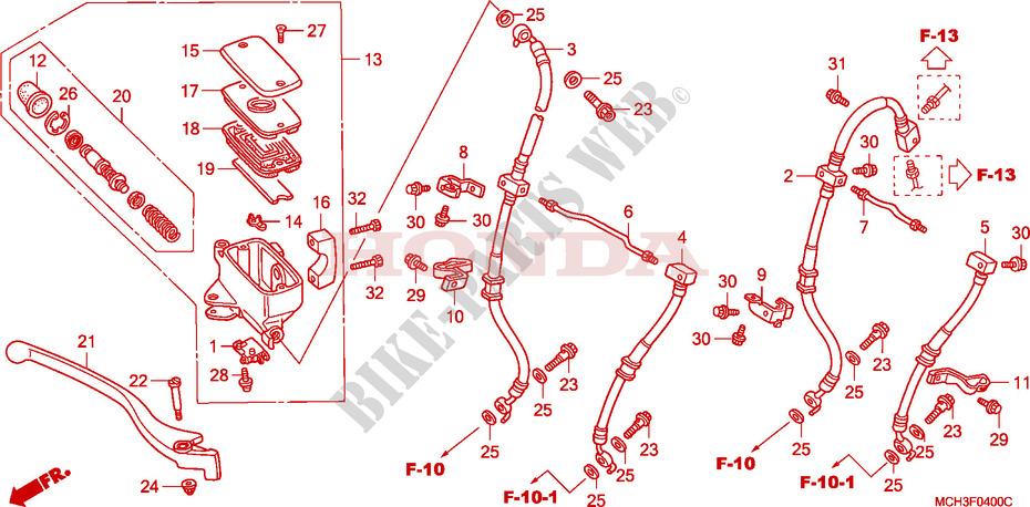 VT 750 C2 : freinage ? F__0400