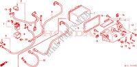 BATTERIE Chassis 600 honda-moto SILVERWING 2002 F__2100