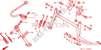 BEQUILLE Chassis 600 honda-moto SILVERWING 2002 F__2500