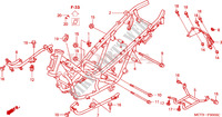 CARROSSERIE DE CHASSIS Chassis 600 honda-moto SILVERWING 2002 F__3000