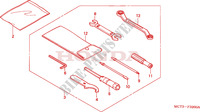 OUTILS Chassis 600 honda-moto SILVERWING 2002 F__3200