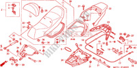 SIEGE Chassis 600 honda-moto SILVERWING 2002 F__1900