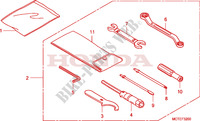 OUTILS Chassis 600 honda-moto SILVERWING 2006 F__3200