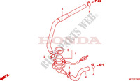 VALVE INJECTION D'AIR pour Honda SILVER WING 400 de 2006
