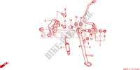 BEQUILLE Chassis 600 honda-moto CBR 2003 F__2100