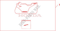 INDOOR CYCLE COVER Accessoires 600 honda-moto CBR 2003 08P3402