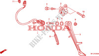 BEQUILLE Chassis 1000 honda-moto CBR 2008 F__2200