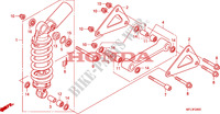 COUSSIN ARRIERE Chassis 1000 honda-moto CBR 2008 F__2400