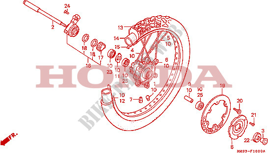 [RCH]Disque de frein avant HONDA 600 TRANSALP + patte durite ROUE-AVANT-Honda-MOTO-600-TRANSALP-1992-XL600VN-F__1000