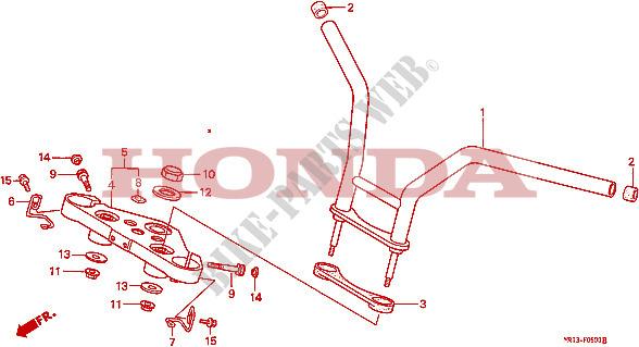 vt600 : Problème riser / guidon GUIDON--TE-DE-FOURCHE-Honda-MOTO-600-SHADOW-1988-VT600CJ-F__0500