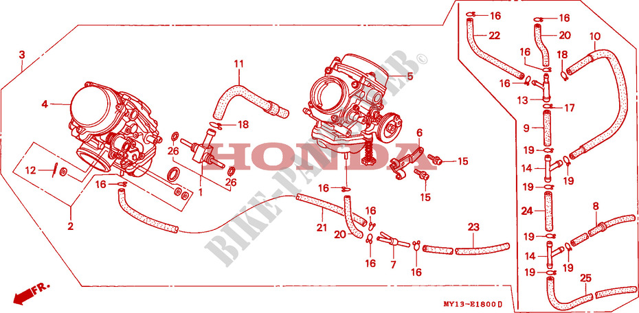 XRV 750 Africa-twin : remise en route : cale après démarrage (carburateurs) E__1800