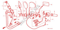 COMMUTATEUR/CABLE Chassis 1500 honda-moto GOLD-WING 1999 F__0300