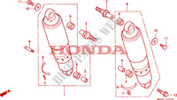 COUSSIN ARRIERE Chassis 1500 honda-moto GOLD-WING 1999 F__2500