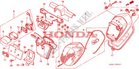 FEU ARRIERE(2) Chassis 1500 honda-moto GOLD-WING 1999 F__2801