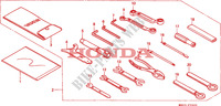 OUTILS(1) Chassis 1500 honda-moto GOLD-WING 1999 F__3500