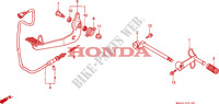 PEDALE Chassis 1500 honda-moto GOLD-WING 1999 F__2100