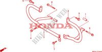 PROTECTION DE MOTEUR Chassis 1500 honda-moto GOLD-WING 1999 F__3400
