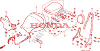 SIEGE Chassis 1500 honda-moto GOLD-WING 1999 F__1700