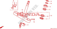TIGE DE DIRECTION Chassis 1500 honda-moto GOLD-WING 1999 F__0700
