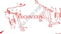BEQUILLE pour Honda BIG ONE 1000 de 1995