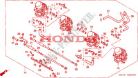 CARBURATEUR(ENS.) pour Honda BIG ONE 1000 de 1994