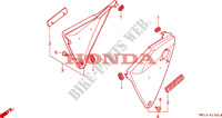 COUVERCLE LATERAL Chassis 1000 honda-moto CB 1993 F__1700